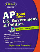 AP U. S. Government and Politics,2004