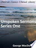 download ebook unspoken sermons series one pdf epub