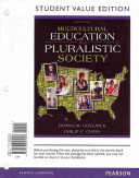 Multicultural Education in a Pluralistic Society  Student Value Edition Plus New Myeducationlab with Pearson Etext    Access Card Package