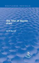 download ebook the trial of jeanne d\'arc (routledge revivals) pdf epub
