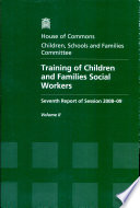 Training of Children and Families Social Workers