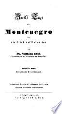 Zwölf Tage auf Montenegro