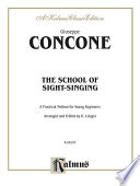 The School of Sight Singing  Practical Method for Young Beginners  Lutgen