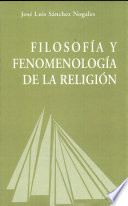 Filosof A Y Fenomenolog A De La Religi N
