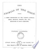 The animals of the Bible