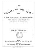 download ebook the animals of the bible pdf epub