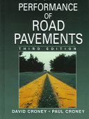 The Design and Performance of Road Pavements