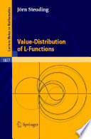 Value Distribution Of L Functions