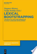 Lexical Bootstrapping
