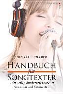 Handbuch f  r Songtexter