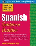 Practice Makes Perfect Spanish Sentence Builder
