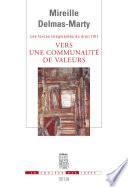 Vers Une Communaut De Valeurs Les Forces Imaginantes Du Droit 4