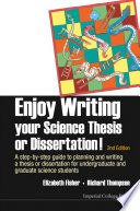 Enjoy Writing Your Science Thesis or Dissertation