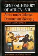 Africa Under Colonial Domination 1880 1935 Last Thirty Years The General