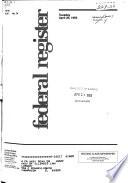 Federal Register : ...