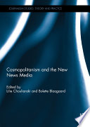Cosmopolitanism and the New News Media The Haiti Earthquake Are Only