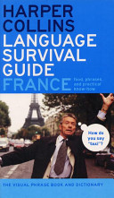 HarperCollins Language Survival Guide  France