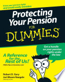 Protecting Your Pension For Dummies Book PDF