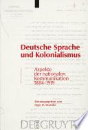 Deutsche Sprache und Kolonialismus
