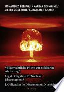 L' obligation de désarmement nucléaire?