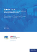 Rapid.Tech – International Trade Show & Conference for Additive Manufacturing