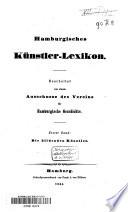 Hamburgisches Künstler-Lexicon