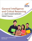 General Intelligence and Critical Reasoning for MAT  CMAT  MHCET  NMAT Exams