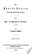 Historisch-Geographisch-Statistisches Gemalde der Schweiz