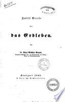 Zwolf Briefe uber das Erdleben von Carl Gustav Carus