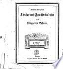 Kaiserlich Königlicher Titular und Familienkalender (Titular- und Familiencalender) des Königreiches Böhmen