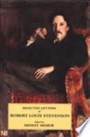 Selected Letters of Robert Louis Stevenson