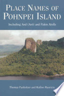 Place Names of Pohnpei Island Pohnpei Useful To Readers Interested In Ancient
