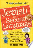 Jewish as a Second Language