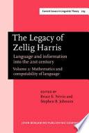 The Legacy of Zellig Harris