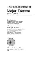 The Management of Major Trauma