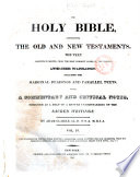 The Holy Bible : ...