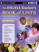 The ESL ELL Teacher s Book of Lists