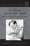Karl Barth and the Fifth Gospel Amount Of Attention To The Topic