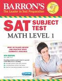 Barron S Sat Subject Test