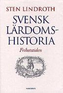 Svensk lärdomshistoria: Frihetstiden