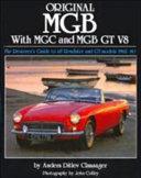 Original MGB with MGC and MGB GT