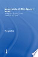 Masterworks Of 20th Century Music
