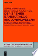 "Der Bremer Bandkatalog ""Kolonialwesen"""