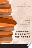 Language  Sexuality  and Power