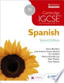 Cambridge IGCSE   Spanish Student Book Second Edition