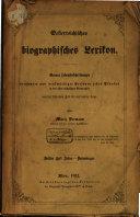Oesterreiches biographisches Lexikon