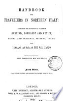Hand book for travellers in northern Italy  by sir F  Palgrave