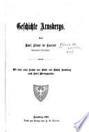 Geschichte Arnsbergs...