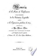 Exposici  n p  blica  Madrid  1827