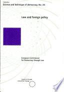 Droit Et Politique Étrangère